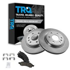 08-14 Enclave;09-14 Traverse;07-14 Acadia;07-10 Outlook Fr Premium Posi Ceramic Pads & Rotors