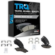 08-14 Enclave;09-14 Traverse;07-14 Acadia;07-10 Outlook F & R Premium Posi Ceramic Brake Pad Set