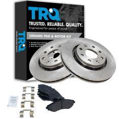 04-11 Aveo; 13 Spark; 09 G3 Front Ceramic Brake Pad & Rotor Set