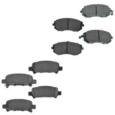 02-09 Subaru Multi Fit Front & Rear Premium Posi Ceramic Disc Brake Pad Kit