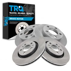 98-10 Volkswagon Multifit Front & Rear Disc Brake Rotor Kit