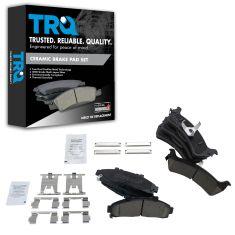02-98 Ranger; 95-02 Explorer; 97-01 Mountaineer Front & Rear Ceramic Brake Pad Set