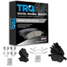 Audi, VW Multifit Front & Rear Ceramic Disc Brake Pads Kit