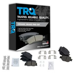05-10 Scion tC Front & Rear Premium Ceramic Brake Pad Kit