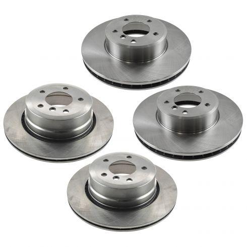 08 535xi brakes