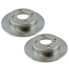 89-98 Nissan 240SX Rear Brake Rotor Pair