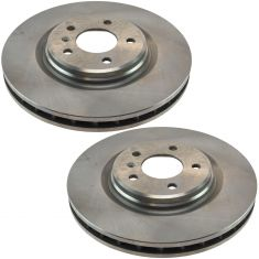 05-08 Grand Prix GXP Front Disc Brake Rotor Pair (Non Drilled Replacement)
