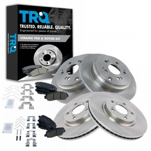 Carlson Quality Brake Parts H7116 Brake Combination Kit