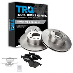 08-13 BMW 328i; 12-15 X1 Front Posi Disc Brake Pad & Rotor Kit