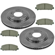12-15 Armada; 11-15 Titan Front Ceramic Brake Pad Set