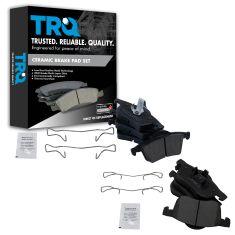 Volvo Multifit Front & Rear Premium Posi Cermic Disc Brake Pad Kit
