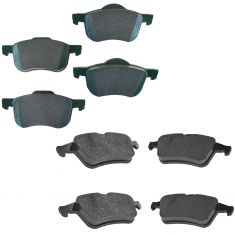 Volvo Multifit Front & Rear Premium Posi Cermic Disc Brake Pad Kit