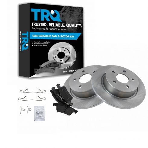 Rear OE Disc Brake Rotors For Ford C-Max Escape Transit Connect