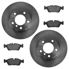 92-99 318i, 94-97 318ic, 93-97 318is, 92-95 325i, Front Premium Posi Ceramic Pads & Rotors