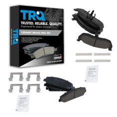 06-11 Armada; 08-10 Titan; 06-10 QX56 Front & Rear Ceramic Disc Brake Pad Kit