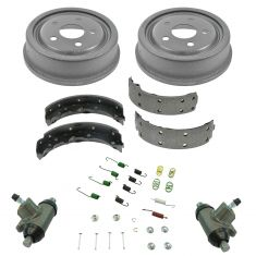 Buick Chevy Olds Pontiac Multifit Rear Brake Drum, Shoe, Hardware and Wheel Cylinder Kit