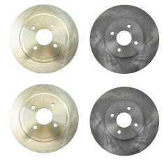 04-04 Ford Focus Front & Rear Disc Brake Rotor Kit
