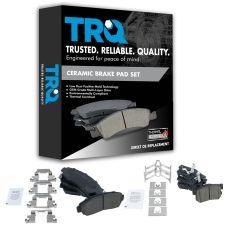 07-12 RDX 2WD; 07-11 CR-V; 10-12 Crosstour Front & Rear Premium Posi Ceramic Disc Brake Pads