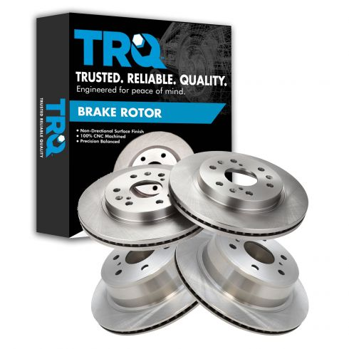 07-13 Chevy GMC Truck & SUV Front & Rear Rotor Set