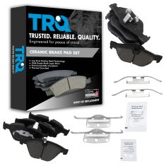 07-13 328 Front & Rear Premium Posi Ceramic Disc Brake Pad Kit
