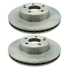 08-09 C230; 10-15 C250; 08-12 C300; 12-15 SLK250 Front Brake Rotor Pair