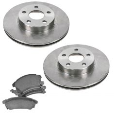 GM Multifit Front Premium Posi Ceramic Disc Brake Pad & Rotor Kit