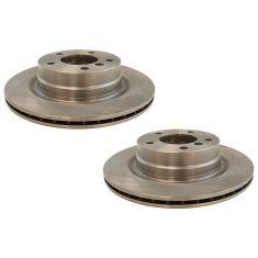 06-11 323i; 06 325i; 07-13 328i Rear Disc Brake Rotors Pair
