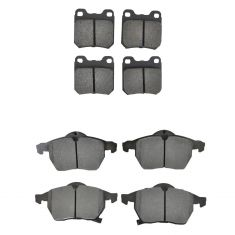 99-03 9-3; 00-05 L Series Front & Rear Posi Metallic Pad Kit