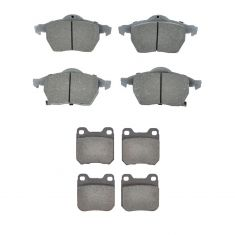 99-03 9-3; 00-05 L Series Front & Rear Posi Ceramic Pad Kit