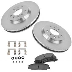 06-11 Lucerne, Impala, Monte Front Disc Brake Rotor & Pad w/HW