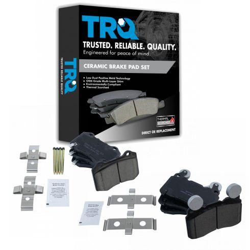 Raybestos EHT1474 Enhanced Technology Friction Pads Brake Pad Set
