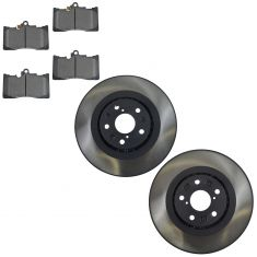 07-11 Lexus GS Series; 06-15 IS Series Front Disc Brake Pad & Rotor Kit (Lexus)