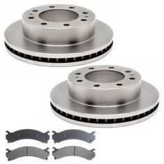 FRONT Raybestos Ceramic Disc Brake Pad & Rotor Kit 580000R & SGD784M