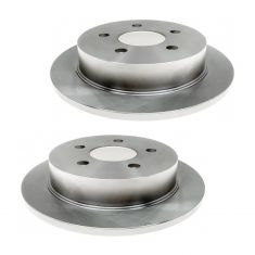 Rear Disc Brake Rotor (Raybestos Professional Grade) Pair