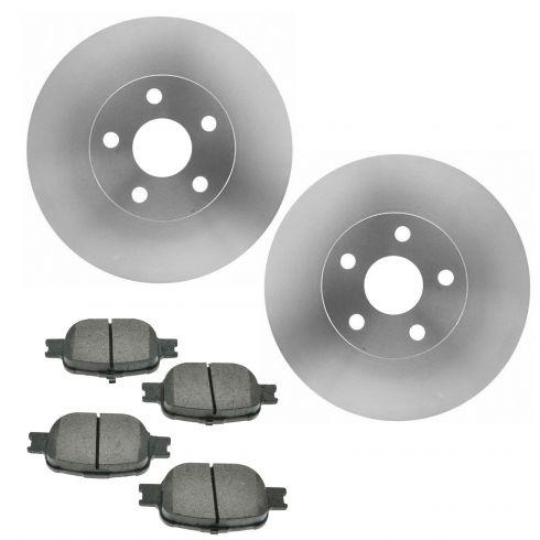 Front Ceramic Disc Brake Pads Set Kit RAYBESTOS for Corolla