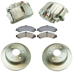 03-06 Silverado 1500 NEW Rear Brake Caliper, Ceramic Pad & Rotor Kit (Raybestos)