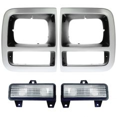 92-96 Chevy GMC Van Front Lighting Kit (4 Piece)