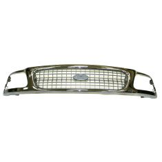 97-98 Ford Expedition XLT Grille Chr