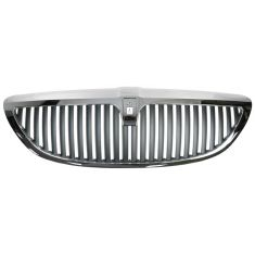 2003-11 Lincoln Towncar Dark Gray & Chrome Grille