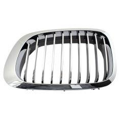 00 BMW 323Ci, 328Ci; 01-03 325Ci, 330Ci; 01-06 M3 All Chrome Upper Grille LH