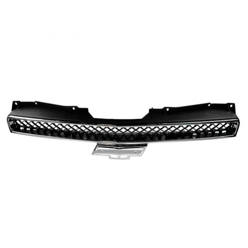 07-12 Chevy Avalanche; Suburban; Tahoe Upper Grille Black & Chrome