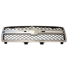11-14 Chevy Silverado 2500HD, 3500 Dark Gray & Chrome Grille