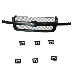 03-06 Chevy Avalanche; 03-07 Silverado 1500 SS Classic PTM Upper Grille