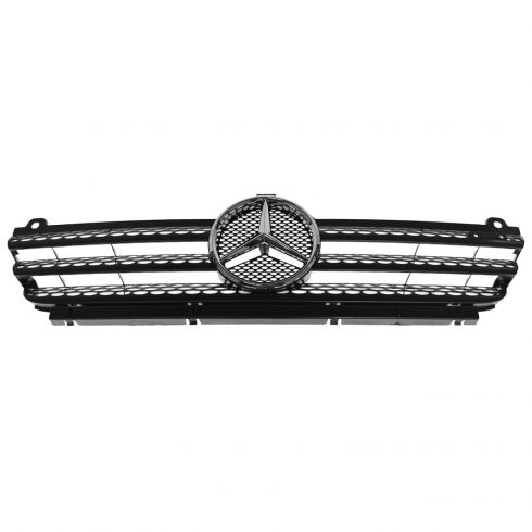 02-06 Mercedes Benz Sprinter 2500, 3500 Black Grille w/Silver Star Emblem (Mercedes)