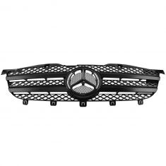 10-15 Mercedes Benz Sprinter 2500, 3500 Black Mesh Grille w/Chrome Star Emblem (Mercedes Benz)