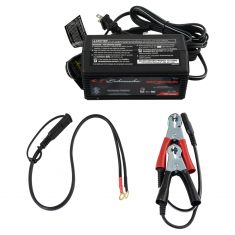 Schumacher: (1.5 Amp - 6V/12V) Powersport Fully Automatic Battery Charger/Maintainer