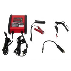Schumacher: (6 Amp - 6V/12V) Powersport Fully Automatic Battery Charger/Maintainer