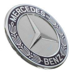 90-14 MB CL, CLK, E, G, GL, GLK, M, ML, R, S/CL, SL, SLK Class Flush Mtd Hood Ornamnt (Mercedes Bnz)
