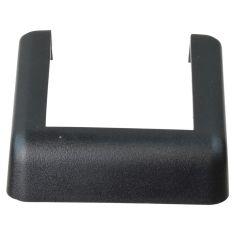 07-15 Jeep Wrangler Body Mounted Molded Black PlasticTailgate Lower Hinge Cover (Mopar)