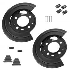 00-04 Excursion; 99-11 F250-F350SD; 11 F450-F550SD (w/LR Caliper Facing Frnt Axle) Rrr Dsc Brk Sh PR